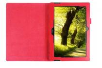 Чехол для Acer Iconia Tab A3-A30/A31 красный кожаный