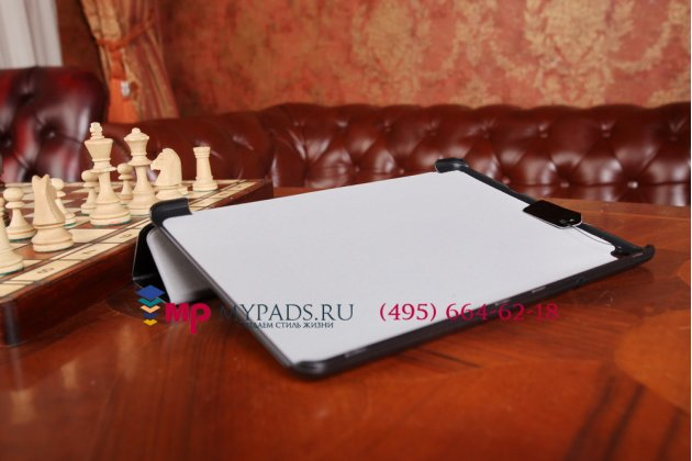 """Фирменный умный чехол самый тонкий в мире для Acer Iconia Tab A3-A10/A3-A11 """"Il Sottile черный пластиковый Италия"""