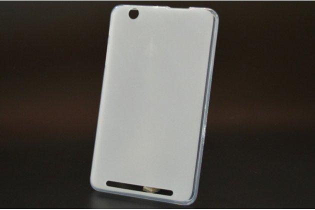 """Фирменная ультра-тонкая полимерная из мягкого качественного силикона задняя панель-чехол-накладка для планшета Acer Iconia Tab B1-750/B1-751 7.0"""" белая"""