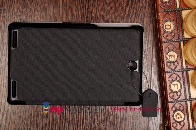 """Фирменный умный чехол самый тонкий в мире для Acer Iconia Tab 7 A1-713/A1-713HD """"Il Sottile"""" черный пластиковый Италия"""
