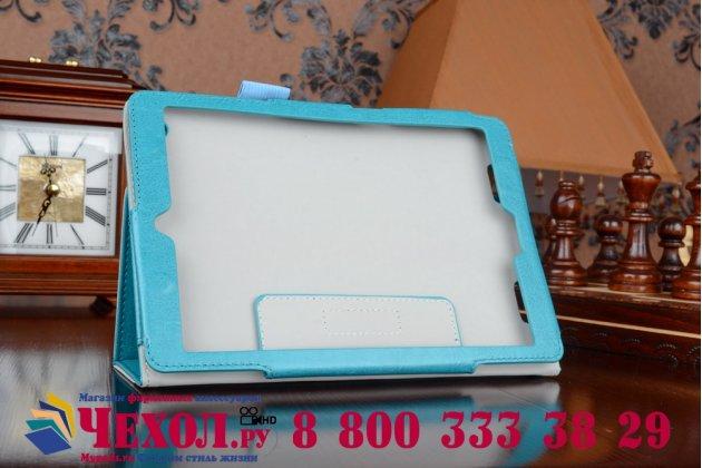 """Фирменный чехол-футляр-книжка для Acer Iconia Tab A1-830/A1-831 7.9"""" бирюзовый кожаный"""