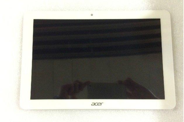 Фирменный LCD-ЖК-сенсорный дисплей-экран-стекло с тачскрином на планшет Acer Iconia Tab A3-A20/A3-A21/A3-A20FHD белый и инструменты для вскрытия + гарантия