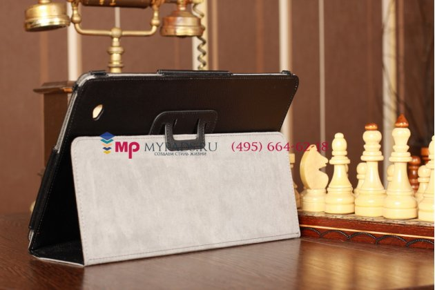 Оригинальный чехол для Acer Iconia Tab W700/W701 черный кожаный