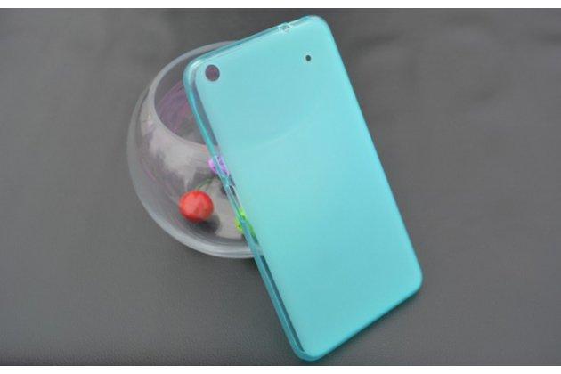 """Фирменная ультра-тонкая полимерная из мягкого качественного силикона задняя панель-чехол-накладка для планшета Acer Iconia Talk S A1-724 (NT.L7ZEE.001 / Q6YQ) 7.0"""" голубая"""