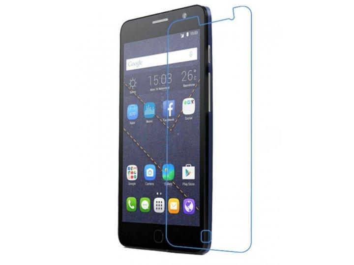 Фирменная оригинальная защитная пленка для телефона Alcatel One Touch POP STAR 5022D  глянцевая..