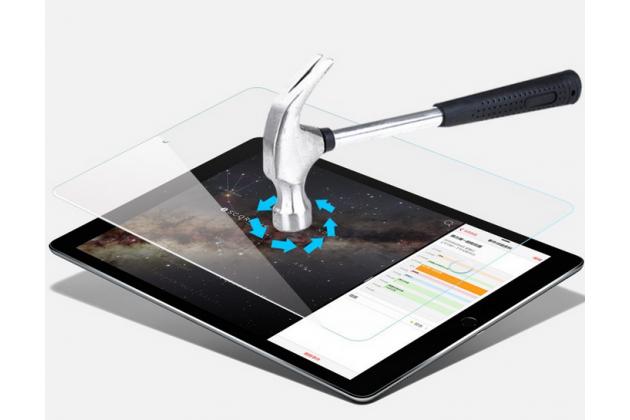 """Фирменное защитное закалённое противоударное стекло премиум-класса из качественного японского материала с олеофобным покрытием для iPad Pro 12.9"""""""