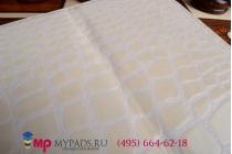 Фирменный чехол-книжка для лаковая кожа крокодила iPad Air 2 белый