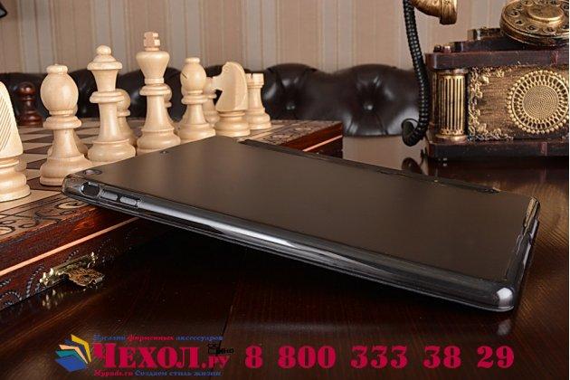 """Чехол для iPad Air 1 черный кожаный """"Il Sottile"""" Италия"""