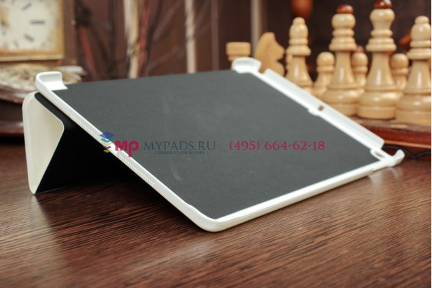 """Чехол для iPad Air """"Il Sottile"""" белый кожаный Италия"""