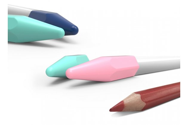 Фирменный защитный чехол-колпачек-пенал для стилуса Apple Pencil из импортного качественного силикона