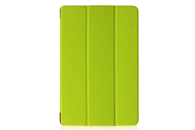 Фирменный умный чехол самый тонкий в мире для Acer Iconia Tab 10 A3-A40 2016 iL Sottile зеленый пластиковый Италия