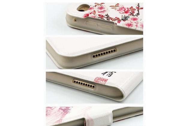 Фирменный уникальный чехол-обложка с подставкой и магнитной застежкой для iPad Pro 12.9 с рисунком тематики Сакура