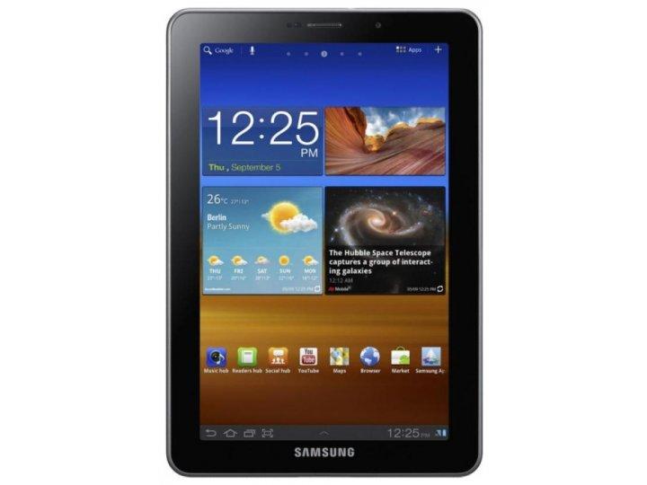 Защитная пленка для Samsung 7.7 P6800 матовая..